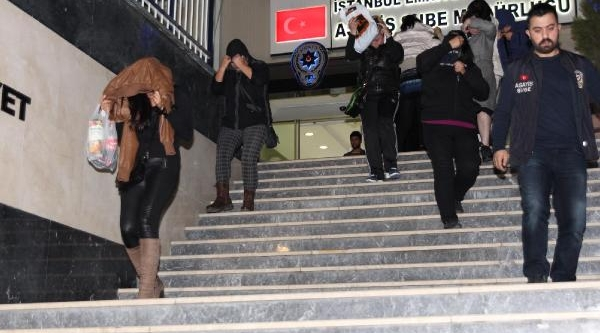 Aksaray'da Fuhuş Operasyonu:14 Gözalti
