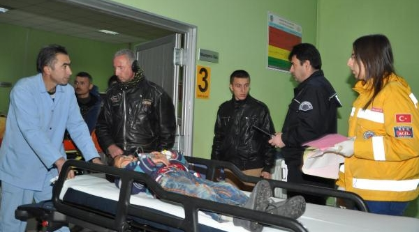 Aksaray'da Yolcu Otobüsü Devrildi: 36 Yarali