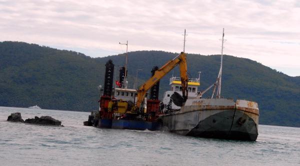 Akyaka'da Liman Temizliği