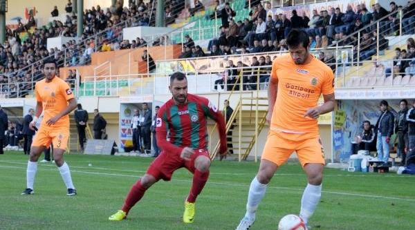 Alanyaspor-Diyarbakir Büyükşehir Belediye:  0-1