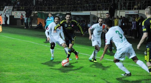 Alanyaspor-Fenerbahçe Maçi Fotoğraflari