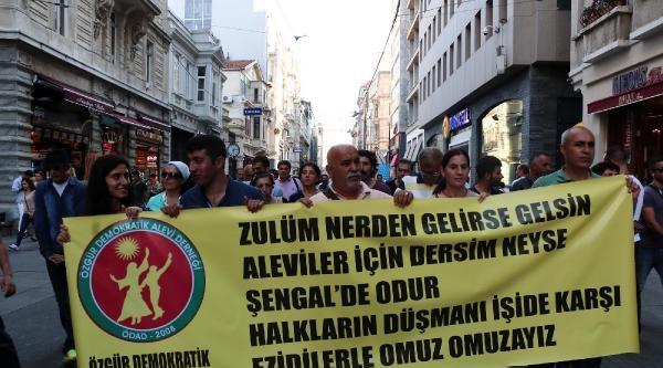 Alevilerden Işid Protestosu