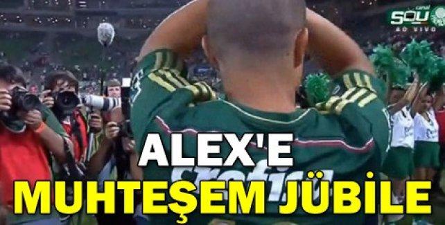 Alex'e muhteşem jübile