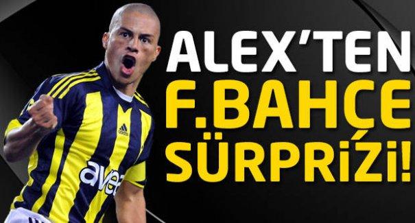 Alex'ten Fenerbahçe'ye büyük sürpriz!