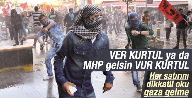 Ali Atıf'tan ver kurtul vur kurtul yazısı
