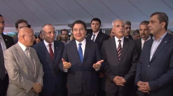 Ali Babacan Egd'nin Ödül Törenine Katıldı