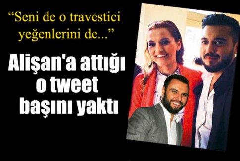 Alişan'a attığı o tweet başını yaktı