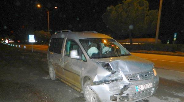 Alkollü Sürücü Kaza Yaptı : 1 Yaralı