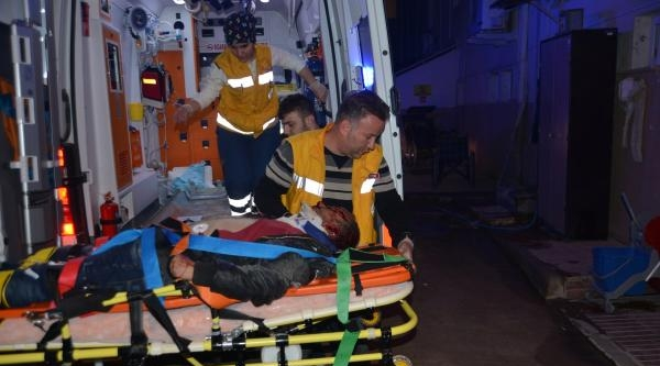 Alkollü Sürücünün Kullandığı Motosiklet Takla Attı: 2 Yaralı
