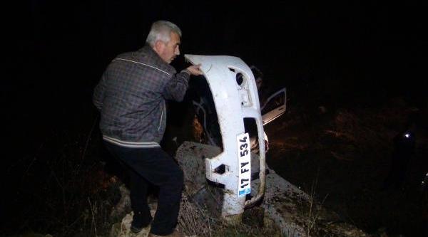 Alkolü Sürücü Otomobille Alt Geçide Uçtu