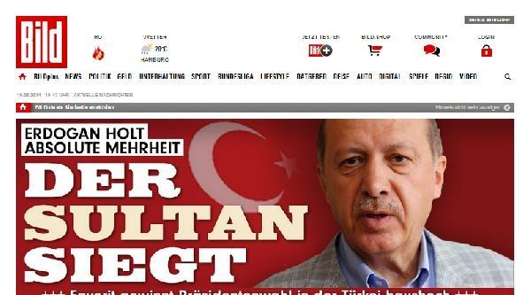 """Alman Basını: """"erdoğan Açık Bir Zafer Kazandı"""""""