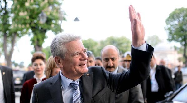 Almanya Cumhurbaşkanı Gauck Ayasofya Müzesi Ve Sultanahmet Camii'ni Ziyaret Etti