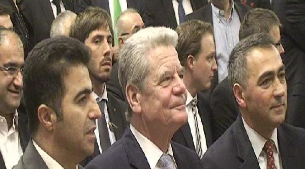 Almanya Cumhurbaşkanı Gauck, Nevruz Kutlamasına Katıldı