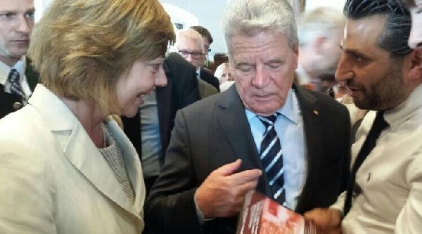Almanya Cumhurbaşkanı Gauck, Sözünü Tuttu