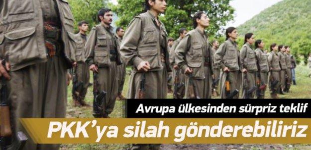 Almanya: PKK'ya silah gönderebiliriz