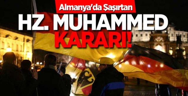 Almanya'da Hz. Muhammed Karikatürlerine Yasak Geldi