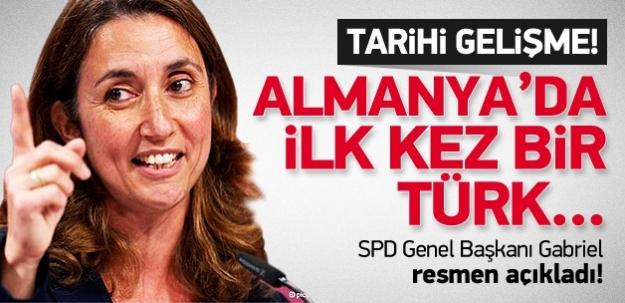 Almanya'da ilk kez bir Türk bakan oluyor!
