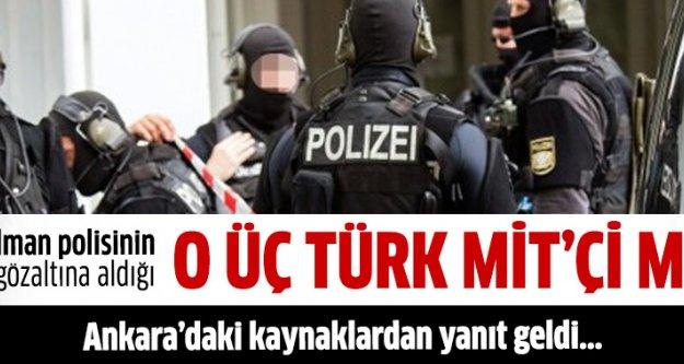 Almanya'daki 3 Türk'e 'casusluk' suçlamasına Ankara'dan yanıt geldi