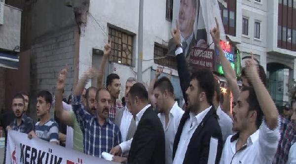 Alperenler'den Türkmen Protestosu