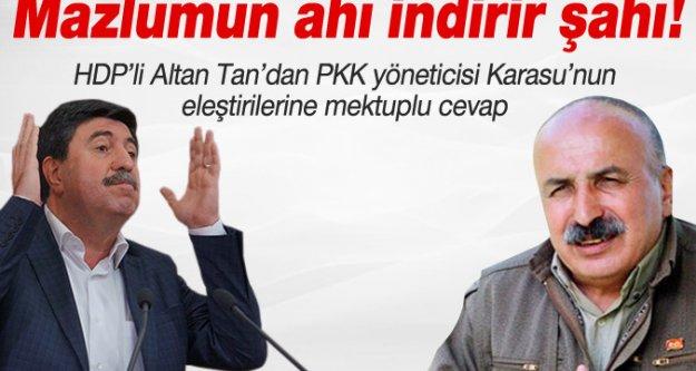 Altan Tan'dan Mustafa Karasu'ya mektuplu cevap