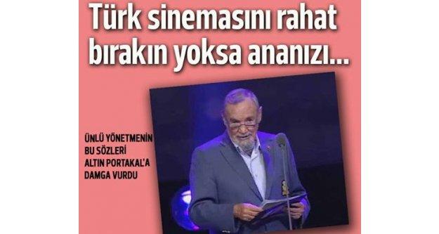 Altın Portakal törenine ünlü yönetmenin 'küfrü' damga vurdu