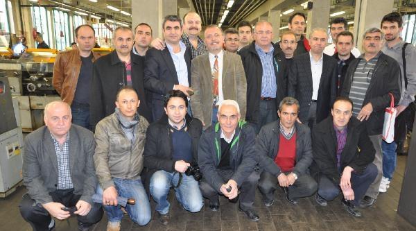 Amasya Belçika Katılım Grubu Brüksel'i Ziyaret Etti