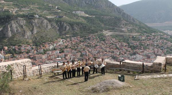 Amasya Belediye Bandosu İftar Öncesi Konsere Hazır