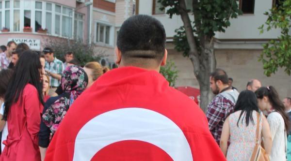 Amasya'da Protesto