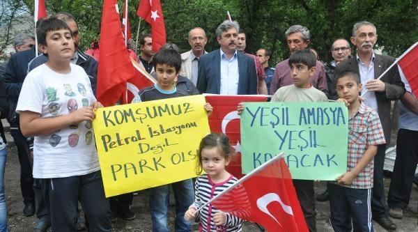 Amasya'da 'yeşil Nöbeti' 3'üncü Gününde (3)