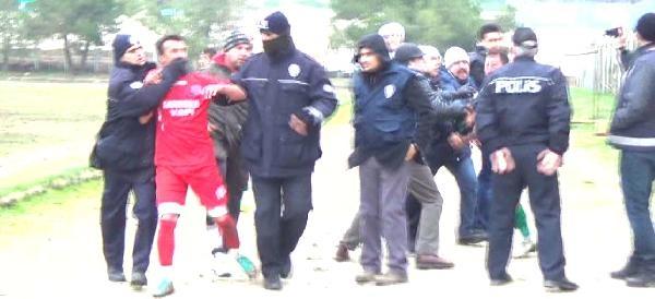 Amatör Lig Maçında Kavga: 5 Gözaltı