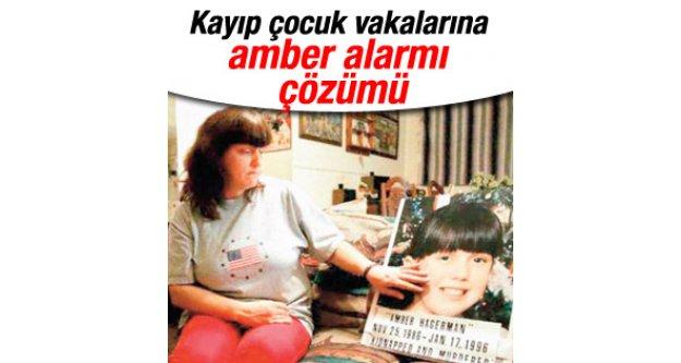 Amber alarmının benzeri Türkiye'de hayata geçti