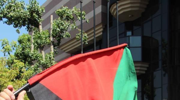 Amerika Büyükelçiliği Önünde Tabutlu Protesto