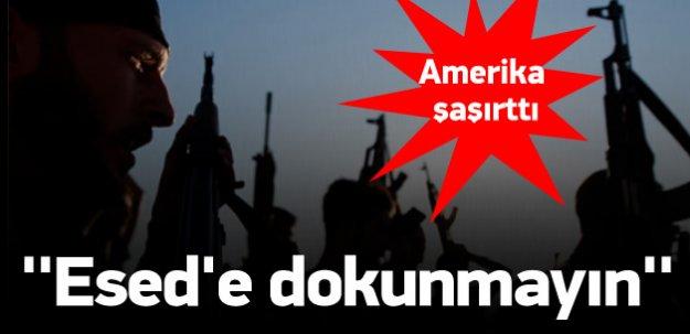 Amerika ''Esed'e dokunmayın'' imzası alıyor