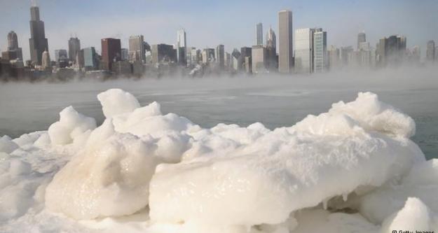 Amerika güney kutbundan daha soğuk!