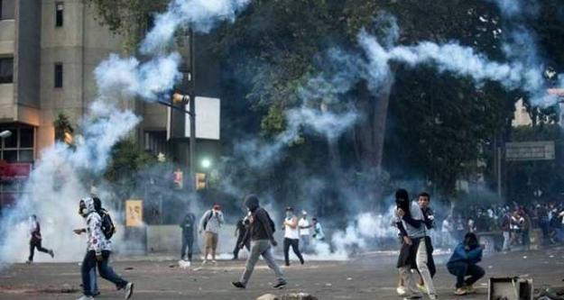 Amerika Şimdide Venezüellayı Karıştırmak İstiyor.Gösteriler Gezi olayları ile aynı
