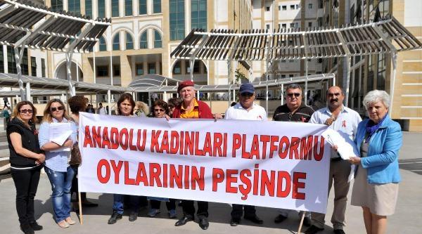Anadolu Kadınları, Antalya'da Seçimin İptali İçin Ysk'ya Başvurdu