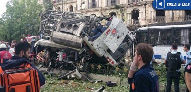 İstanbul Beyazıt'ta patlama: 1'i ağır 5 yaralı! (Son Dakika)