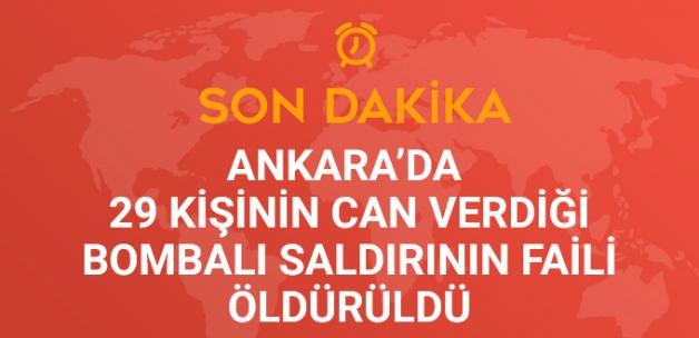 Ankara'da Askeri Servis Araçlarına Yönelik Saldırının Faili, Öldürüldü!