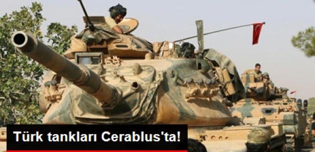 Fırat Kalkanı Operasyonu: Türk Tankları Celabrus'ta!