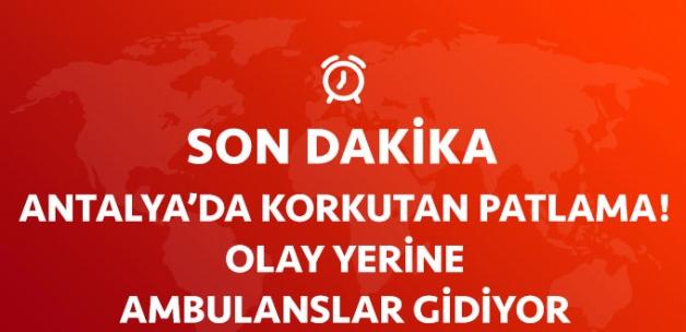 Son Dakika! Antalya Ticaret ve Sanayi Odası Otoparkında Patlama