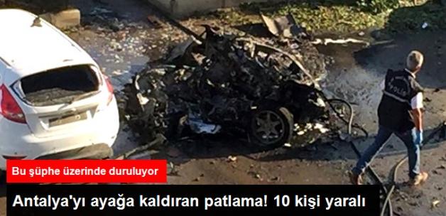 Son Dakika! Antalya Ticaret ve Sanayi Odası Otoparkında Patlama: 10 Yaralı