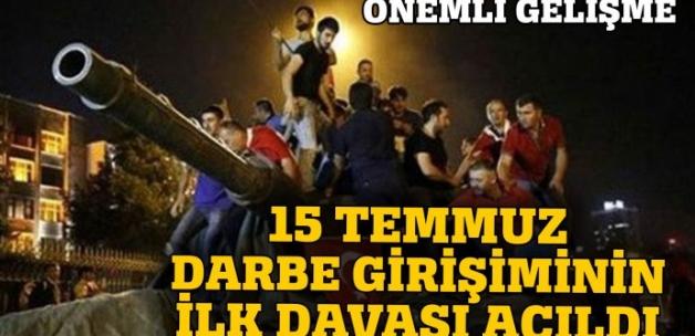 Son Dakika! Darbe girişimine dair İstanbul'daki ilk iddianame kabul edildi