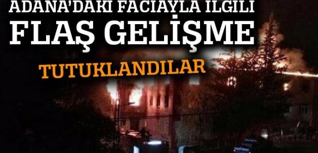 Adana'daki faciayla ilgili 4 kişi tutuklandı