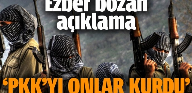Veysel Eroğlu: PKK'yı onlar kurdu
