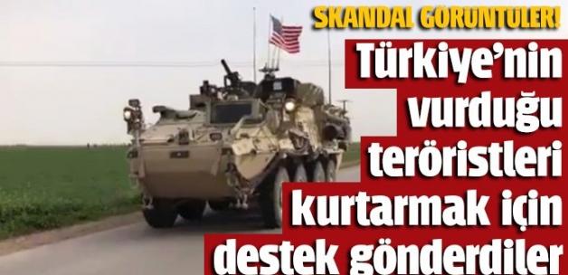 ABD, Türkiye'ye roket yağdıran PYD'lileri korumak için Tel Abyad'a zırhlı birlikler gönderdi