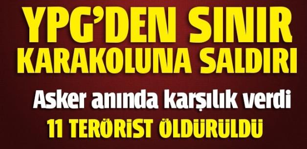 PYD'den Türkiye'ye saldırı! TSK'dan açıklama