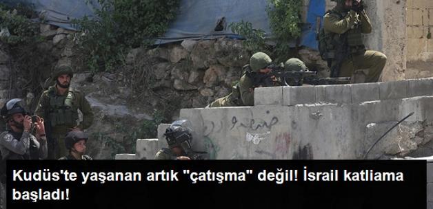 İsrail Polisi İle Filistinliler Arasında Çıkan Çatışmada Şehit Sayısı 3'e Yükseldi