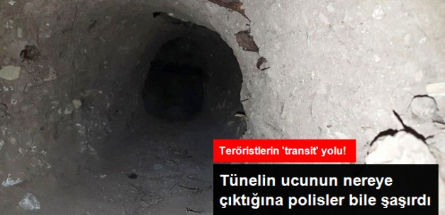 Nusaybin'de Teröristlerin Suriye-Türkiye Arasında Kullandığı Tünel Bulundu