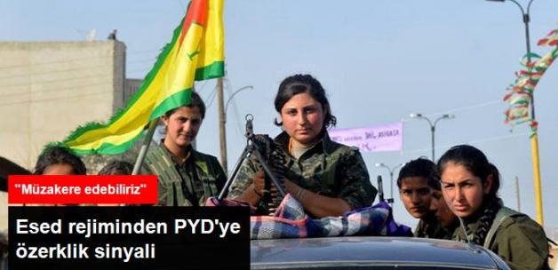 Esed Rejiminden PYD'ye Özerklik Sinyali