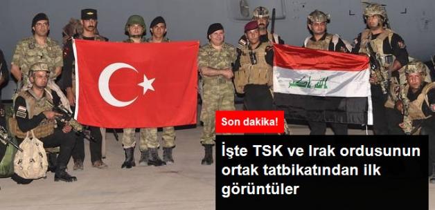 """Irak """"Tatbikata Başladık"""" Dedikten Sonra TSK Fotoğrafları Yayınladı"""